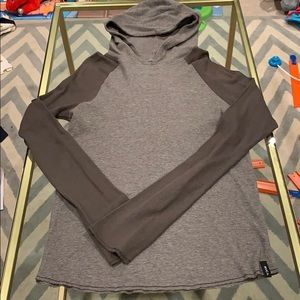 RVCA long sleeve thermal hoodie